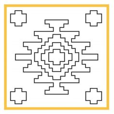 Stamp (im) Motif-Turks family, oba and various sizes of their own pattern . Hand Embroidery Patterns, Beading Patterns, Cross Stitch Embroidery, Cross Stitch Patterns, Loom Weaving, Hand Weaving, Tapete Floral, Southwestern Quilts, Weaving Techniques