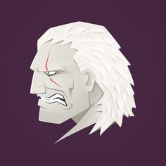 Geralt of Rivia. Personal illustration inspired by The Witcher 3: Wild Hunt expansion The Hearts of Stone.