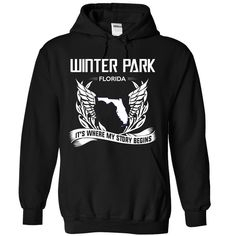 (New Tshirt Produce) Winter park Florida Its Where My Story Begins at Tshirt Best Selling Hoodies, Funny Tee Shirts