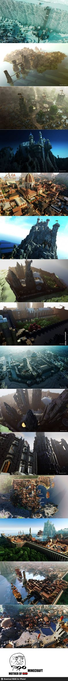 Gosh it's insane what people can build in Minecraft, take this pin as an example, like come on!! These builds are AWESOME!!!!!