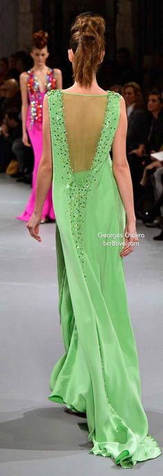 Georges Chakra Spring 2014 Couture Collection
