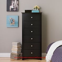 Black Sonoma Tall 6 Drawer Chest  BUY NOW     $189.35    The tall 6-drawer Lingerie Chest is space saving and slender, making this popular style a great addition to any room.  Featur ..  http://www.homeaccessoriesforus.top/2017/03/01/black-sonoma-tall-6-drawer-chest/
