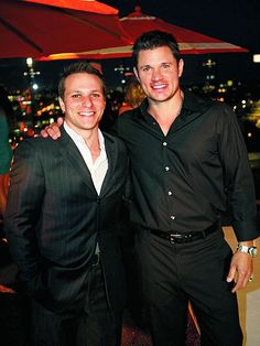 Drew & Nick Lachey. Brothers Forever