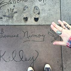 "Leonard Nimoy, Walk of Fame. ""I have been, and always shall be, your friend."""