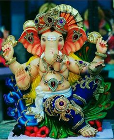 Ganesha Pictures, Ganesh Images, Shri Ganesh, Krishna, Ganesh Photo, Ganesh Idol, Decoration For Ganpati, Art Drawings For Kids, Ganpati Bappa