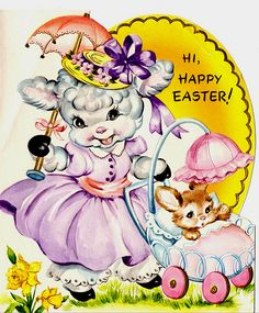 Easter lamb card | Isn't this sweet? Great for all your East… | Flickr
