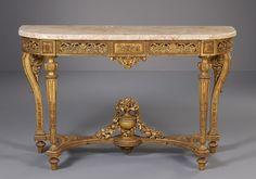 French Louis XVI Console Table #Louisxvi