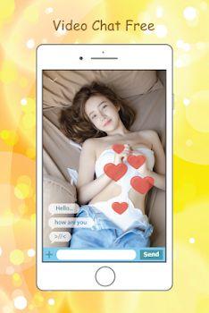 screenshot of Live Cam Chat Girl Free Advice app