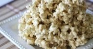 Caramel Marshmallow Popcorn - with honey instead of corn syrup!