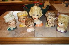 Lovely Ladies: Vintage Head Vases - I Antique Online