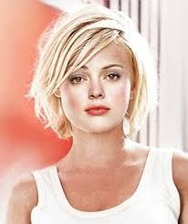 short hairstyles for square faces - Google Search
