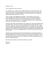 Format Of A Letter Of Complaint  Introduction Reason For