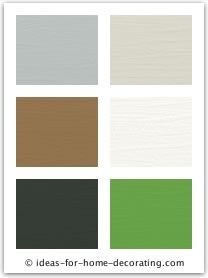 Living room color scheme - neutrals with pops of green