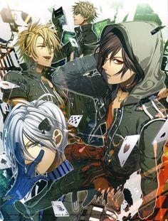 Shin, Ikki, Toma & Kent (Amnesia)