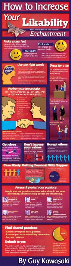 Increase your likeability - Good to know for #job #interviews. (#Infographic) #careers