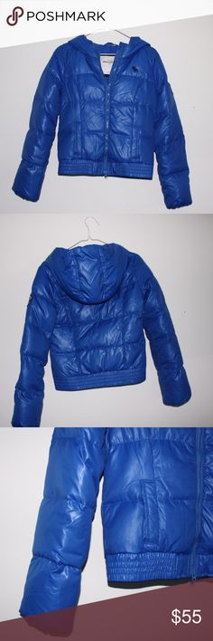 Abercrombie Kids Puffer Coat This Abercrombie Kids Jacket has hardly been worn and is in perfect condition. This coat is super cute and very stylish. This is great for winter and can even fits like a junior size small but is a children's XL. abercrombie kids Jackets & Coats Puffers