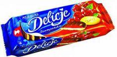 E.Leclerc Rzeszów | Słodycze Ciastka | E.WEDEL DELICJE SZAMPAŃSKIE WIŚNIOWE 147 G