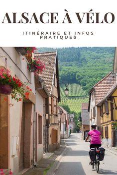 Envie de parcourir la Route des Vins d'Alsace à vélo? Je vous donne l'itinéraire de mon circuit et plein d'infos pratiques! 3 jours à vélo sur la Route des Vins en Alsace de Strasbourg à Colmar #france #alsace #vélo #cyclotourisme #voyage #escapade #weekend