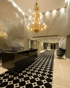 Gorgeous reception area! #Classic #Stunning Reception area // What a way to create a first impression!