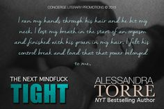 RED MOON...: #Teaser - TIGHT - Alessandra Torre‏