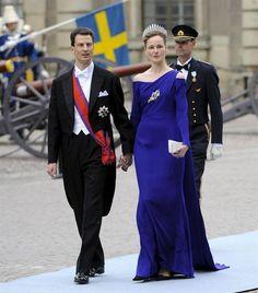 Alois, Hereditary Prince of Liechtenstein and Sophie, Hereditary Princess of Liechtenstein born Duchess of Bavaria, Swedish wedding 2010