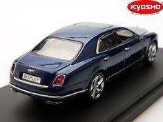 Bentley Mulsanne Speed in Marlin Blue by Kyosho