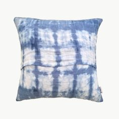 SHIBORI WASH Set of 2 Linen Cushions | Island Luxe Homewares | dosombre.com