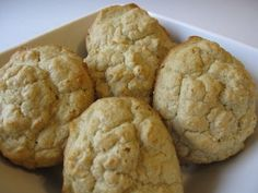 Organic Oat Flour Drop Biscuits Recipe - Whole Lifestyle Nutrition | Organic Recipes | Holistic Recipes