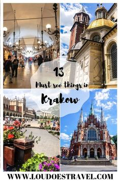 Krakow is so charming European country. Here you will find the 13 Best things to do in Krakow, Poland Croatia Travel, Thailand Travel, Bangkok Thailand, Hawaii Travel, Poland Travel, Italy Travel, Travel Europe, Budget Travel, Visit Krakow