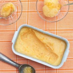 Old-Fashioned Orange Sherbet - blue ribbon award winning dessert!
