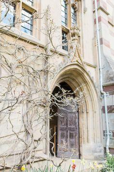 Gorgeous door at Balliol College in Oxford, UK