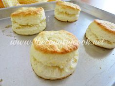 The Country Cook: Cream Biscuits {Only 2 Ingredients!}
