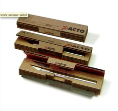 X-ACTO Knife Packaging