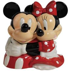 Mickey & Minnie cookie jar