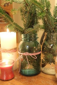 How To Make Simple Christmas Decorations Using Mason Jars
