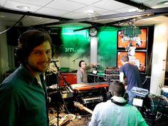 Bowe live bij 3FM Rob Stenders Late Vermaak