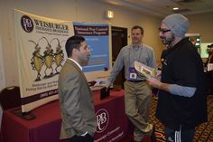 Proud to have Gary and Tom from PBC/Weisburger again at the Expo — at DoubleTree by Hilton Fort Lee.