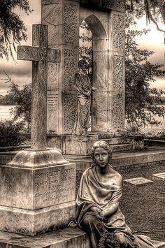 Bonaventure Cemetery, Savannah, Georgia.