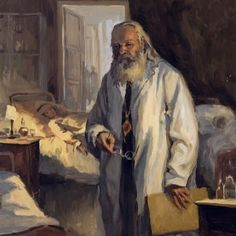 Christ is risen! Luke the Blessed Surgeon, Archbishop of Simferopol of Crimea, depicted in his doctor's robes wi. Christ Is Risen, He Is Risen, Jesus Christ, Archangel Prayers, God Prayer, Orthodox Icons, Health Care, Spirituality, Pictures