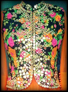 Neehara Mirror work jacket