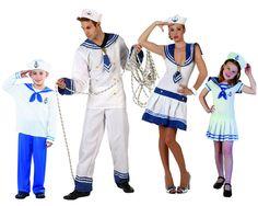 Familia de Marineros #disfraces #carnaval #disfracesparagrupos