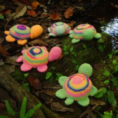 Miniature Crochet Pattern turtle toy PDF ebook - easy amigurumi crochet tutorial - Use Scrap Bag for this pattern - pincushion crochet pdf. $4,00, via Etsy.
