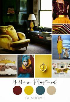 Anette Willemine: Yellow mustard - sennepsgul