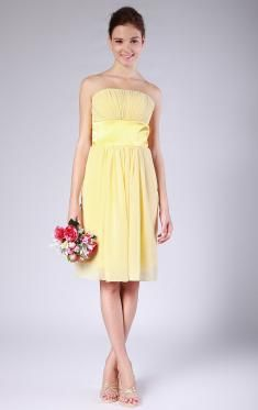 Yellow Bridesmaid Dresses,Pale Yellow,Lemon Bridesmaid Dresses UK