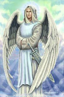 Dharmadhannya: Oração ao  anjo Miguel  abrir caminhos