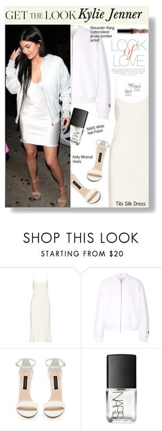 """Get The Look: Kylie Jenner"" by nurmachan ❤ liked on Polyvore featuring TIBI, T By Alexander Wang, Forever New, NARS Cosmetics and Vince"