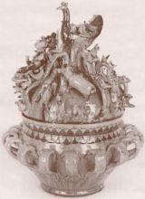 Ornate wassail bowl Learn Welsh, Ways Of Learning, Christmas And New Year, Pottery Art, Bowls, Serving Bowls, Mixing Bowls