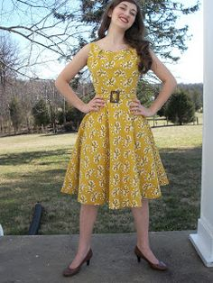 Retrospect: That 70's Upholstery Dress
