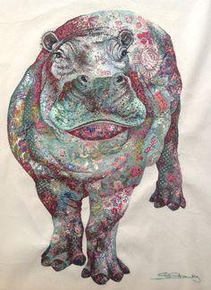 Шикарные вышивки Sophie Standing Art