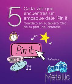 Pañuelos Familia® Chic Metalic - instrucción 5